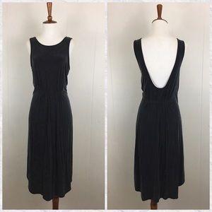 Moulinette Soeurs Cupro Low Back Sleeveless Dress